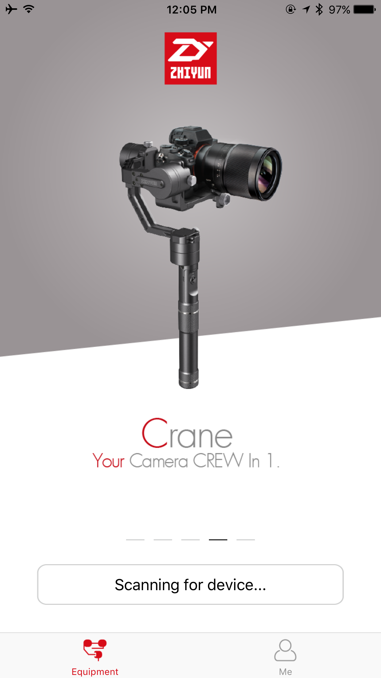 Gudsen Moza Air Vs Zhiyun Crane Media Design Imaging Z1 Ver 20 3 Axis Stabilizer For Mirrorless Camera They Got Two Apps One Is This App It Was A Bit Hard To Find The Info