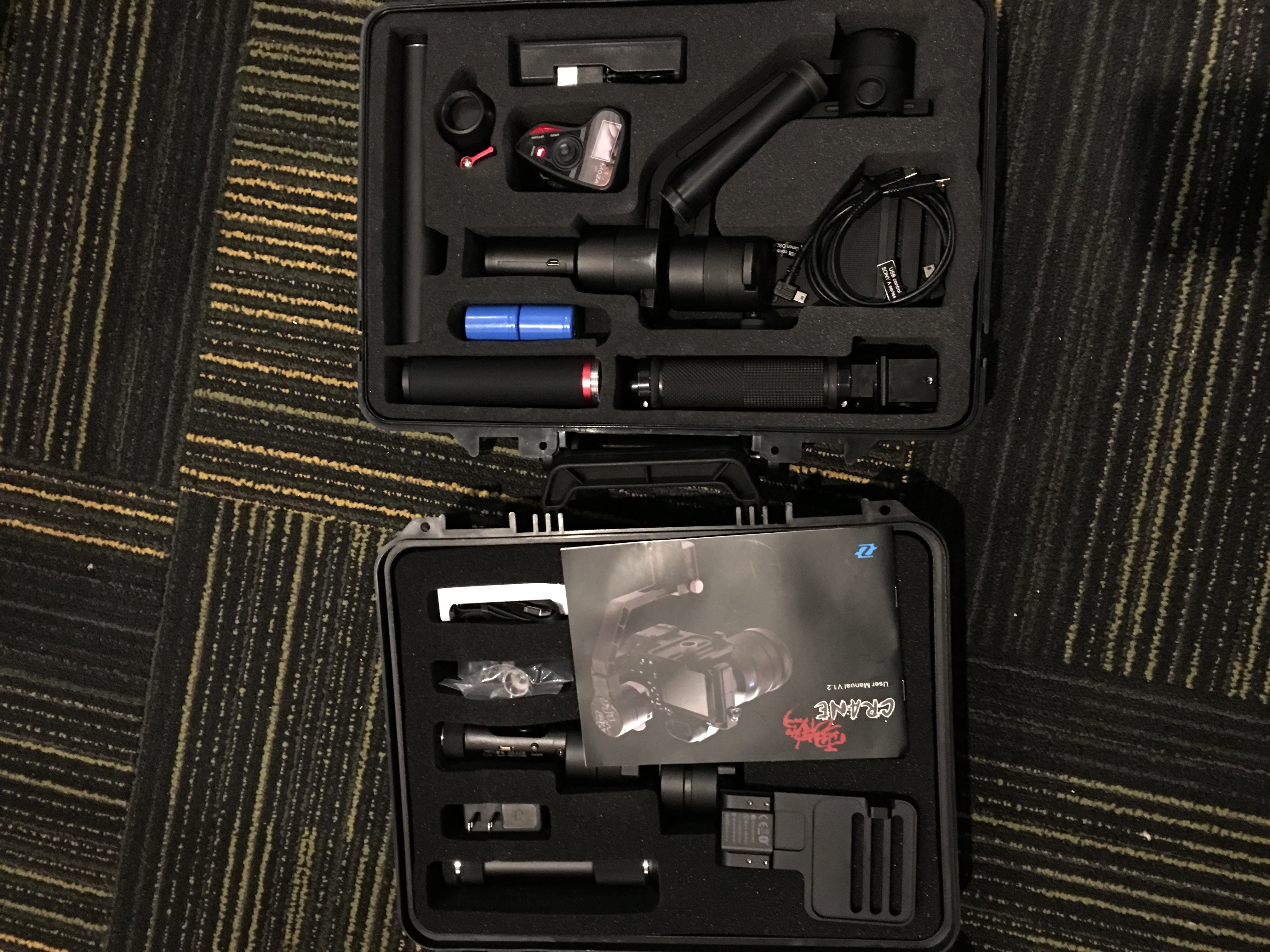Gudsen Moza Air Vs Zhiyun Crane Media Design Imaging Z1 Ver 20 3 Axis Stabilizer For Mirrorless Camera Both Sells With A Carrying Case Usb Cable Wish They Also Should Consider Offering The To Power Adapter Lens Support Screw And Gimbal